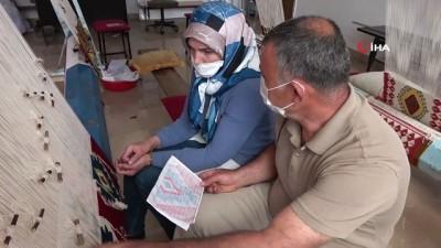 yasli kadin -  Sivas'ın tek dokuma ustası, 35 yıldır işini severek yapıyor