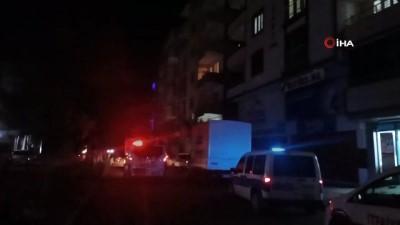 yangin panigi -  Iğdır'da apartmanda yangın paniği