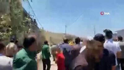 mermi -  - İsrail güçlerinden Nablus'ta Filistinli göstericilere müdahale: 353 yaralı