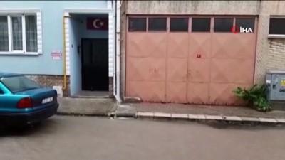 kapali alan -  Kırklareli'nde aniden bastıran yağmur hayatı olumsuz etkiledi
