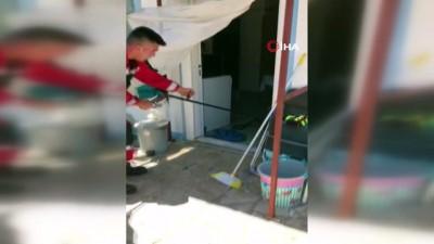 uzunlu -  Marmaris'te eve giren yılan paniğe neden oldu