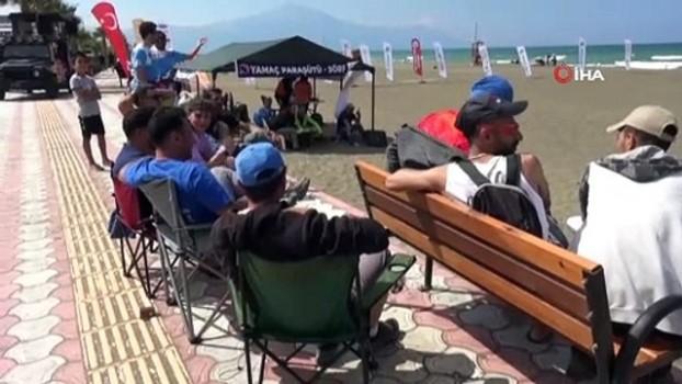 dunya sampiyonu - Samandağ'da yamaç paraşütü şampiyonası coşkusu