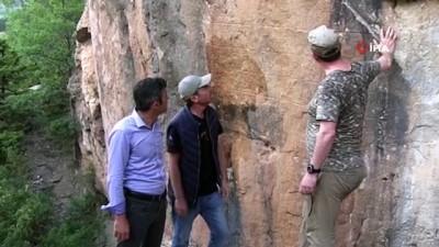 tanri -  2 bin 800 yıllık ilk maden ruhsatı yazıtı Bolkar Dağları'nda