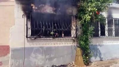 benzin -  Ailesinden miras kalan evi yaktı iddiası