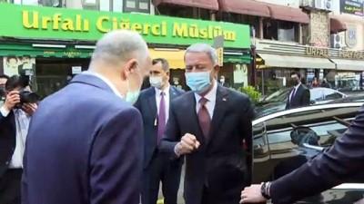ANKARA - Milli Savunma Bakanı Akar, Türk-İş Genel Başkanı Atalay'ı ziyaret etti