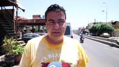 benzin - BEYRUT - Ekonomik krizdeki Lübnan'da sürücüler, 10 litrelik benzin için uzun kuyruk çilesine katlanıyor