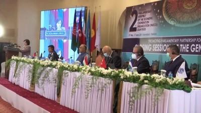 irkcilik - İSLAMABAD - TBMM Başkanı Şentop, Ekonomik İşbirliği Teşkilatı Parlamenter Asamblesi Konferansı'nın kapanışında konuştu