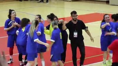 .KARABÜK - İşitme Engelliler Hentbol Kadınlar Türkiye Şampiyonası tamamlandı