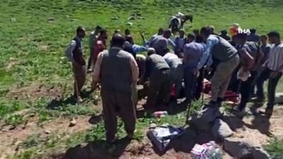 kayali -  Yaylada kalp krizi geçiren adam 3 saatte ambulansa yetiştirildi