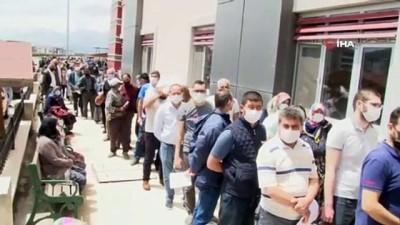 karahisar -  Afyonkarahisar'da aşı kuyruğu