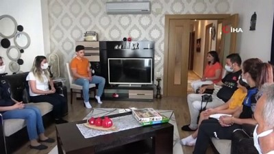 kalp krizi -  Babalar Günü'nde şehit ailesine duygulandıran ziyaret