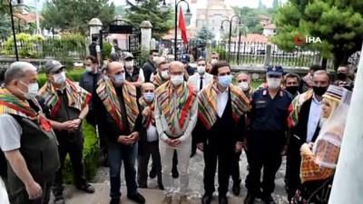 yuruyus yolu -  Domaniç Osmanlı Göç yolu Eko turizm yolu açıldı