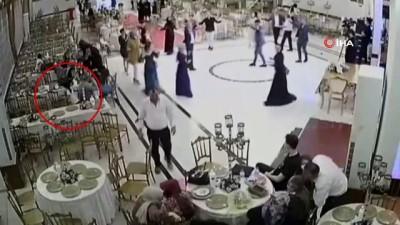 goreme -  Düğün salonundaki küçük hırsız kameralara yakalandı