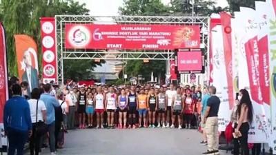 sampiyon - Edirne'de 6. Sınırsız Dostluk Yarı Maratonu renkli görüntülerle son buldu