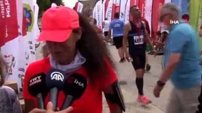 maraton - Edirne maratonuna damga vurdular