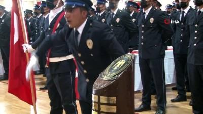 sivil toplum -  Erzincan'da polis adaylarının mezuniyet sevinci