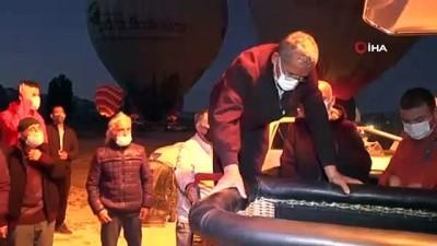 gokyuzu -  Kapadokya'da Babalar Günü gökyüzünde kutlandı