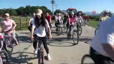 bisiklet turu -  Sağlık çalışanlarından 'en baba' bisiklet turu
