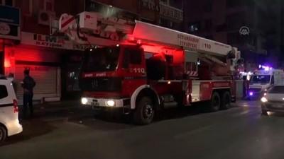 elektrik kontagi - DİYARBAKIR - Apartmanın bodrum katında çıkan yangın hasara neden oldu