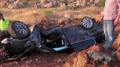 yasam mucadelesi -  Uçuruma yuvarlanan araçta 16 saat kurtarılmayı bekledi
