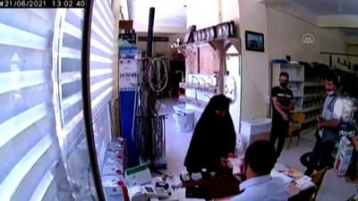 karahisar - AFYONKARAHİSAR - Tırnakçılık yapan hırsız güvenlik kamerasına yakalandı