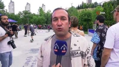 olimpiyat - Büyükşehir Belediyesi Başkent'te kaykay sporunun gelişmesine katkı sağlıyor
