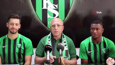 sampiyon - Kocaelispor, Yayıkcı ve Cisse ile sözleşme imzaladı