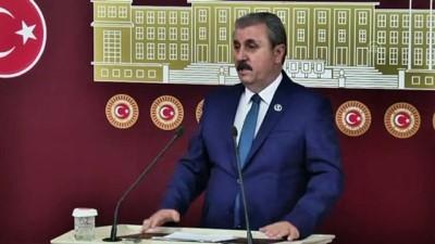 TBMM - BBP Genel Başkanı Destici, HDP'nin kapatılması istemli davayı değerlendirdi