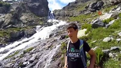 parmak -  Türkiye'nin en yüksek şelalesi Ciro ziyaretçilerini ağırlıyor