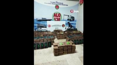"""kokain -  Bakan Muş: """"Mersin Limanı'nda 463 kilogram kokain ele geçirildi'"""