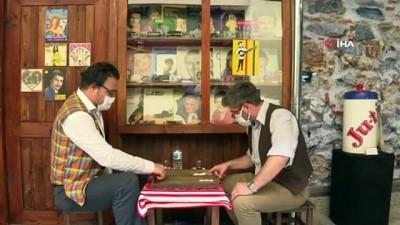 kahvehane -  - Bizim Mahallede maziye nostaljik yolculuk