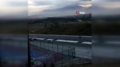 gokyuzu -  Denizli'de 5 dakikalık kum fırtınası yıktı geçti