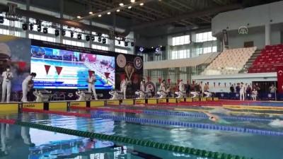 olimpiyat - EDİRNE - Yüzmede milli takım seçmeleri sürüyor