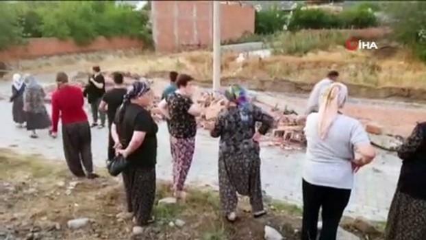 yasli kadin -  Fırtına duvarı yıktı, yaşlı kadın hayatını kaybetti