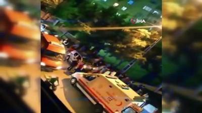 olay yeri inceleme -  Küçükçekmece'de araca silahlı saldırı: 1 ağır yaralı
