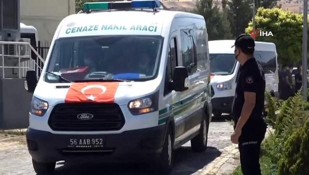 emniyet mudurlugu -  Siirt'te kazada hayatını kaybeden polis memuru için tören düzenlendi