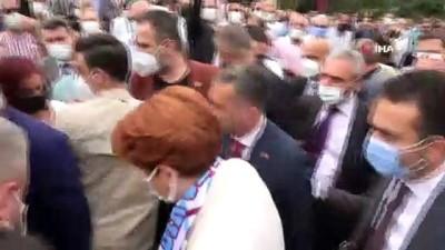 makam araci -  Akşener'den silahlı saldırıya uğrayan Yomra Belediye Başkanı Bıyık'a ziyaret