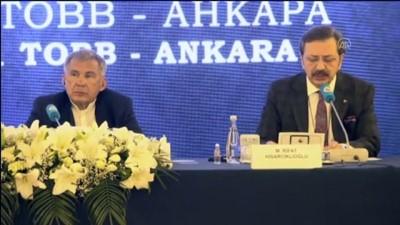 milyar dolar - ANKARA - TOBB Başkanı Hisarcıklıoğlu: 'Hedefimiz, Rusya ile ticaret hacminin 100 milyar dolara ulaştırılması' Videosu