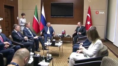 milyar dolar -  Bakan Varank, Tataristan Cumhuriyeti Cumhurbaşkanı Minnihanov ile bir araya geldi Videosu