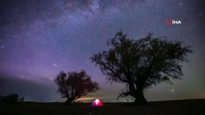 gokyuzu -  - Çin'de net bir şekilde görüntülenen yıldızlar hayran bıraktı
