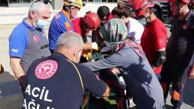 112 acil servis - ELAZIĞ - Deprem ve yangın tatbikatı yapıldı Videosu