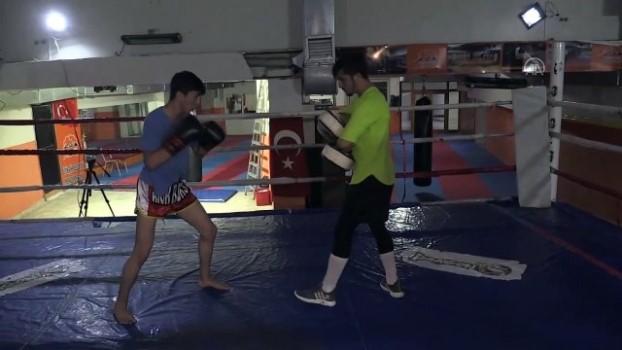 sampiyon - ŞANLIURFA - Dört kardeş kick boksta büyük başarılar peşinde