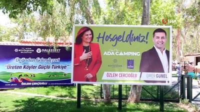buyuksehir belediyesi -  Aydın'da alternatif turizmde yeni rota: 'Ada Camping'