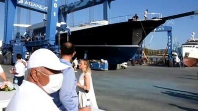 avro - MUĞLA - Bodrum'da 3 milyon avroluk lüks yat denize indirildi