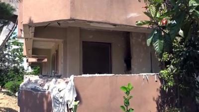 yikim calismalari -  Tuzla'da deprem riski taşıyan binalar yıkılıyor