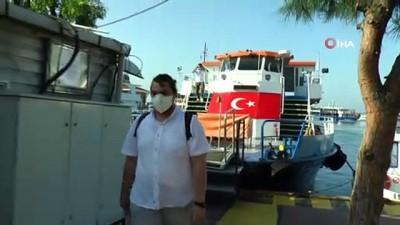 Adalardan Maltepe'ye sınava yetişme telaşı