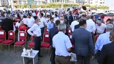 buyuksehir belediyesi - ADANA - CHP Sözcüsü Öztrak, park ve kreş temel atma törenlerine katıldı