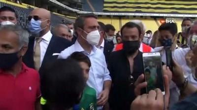 futbol - Genel kurulda Ali Koç'a yoğun ilgi Videosu