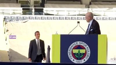 genel kurul - İSTANBUL - Fenerbahçe Kulübünün kongresi - Ali Koç, yeniden başkanlığa seçildi (1)