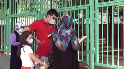 okul bahcesi - KAHRAMANMARAŞ - Üniversite adaylarının YKS heyecanı